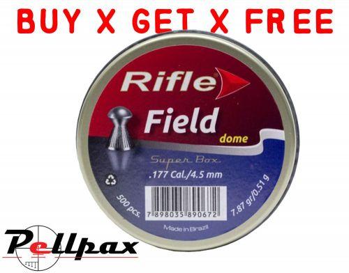 Rifle Field Dome - .177 x 500 - Buy x Get x Free!