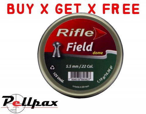 Rifle Field Dome - .22 x 125 - Buy x Get x Free!