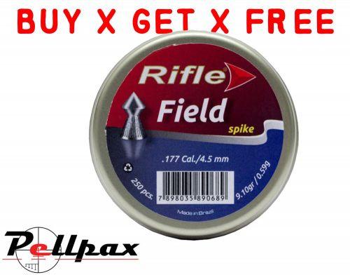 Rifle Field Spike - .177 x 250 - Buy x Get x Free!