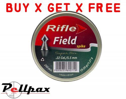 Rifle Field Spike - .22 x 250 - Buy x Get x Free!