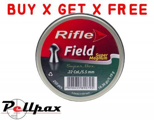 Rifle Field Super Magnum - .22 x 125 - Buy x Get x Free!