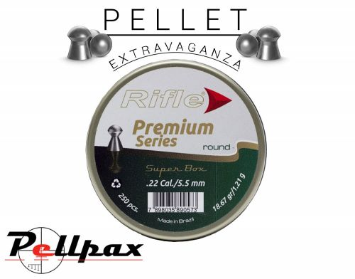Rifle Airgun Ammunition Premium Series Round .22 x 250