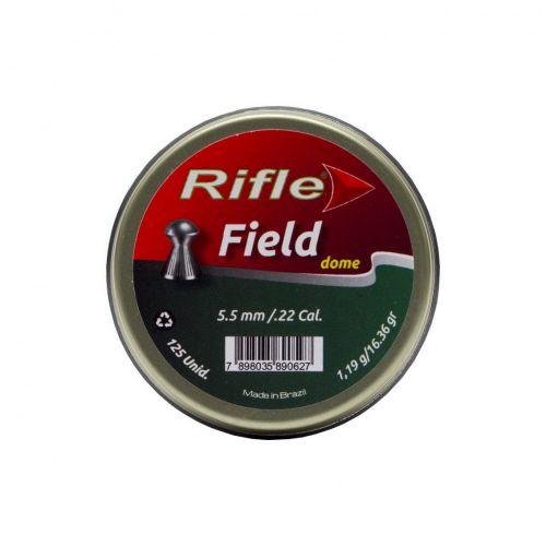 Rifle Airgun Ammunition Field Dome .22 x 125