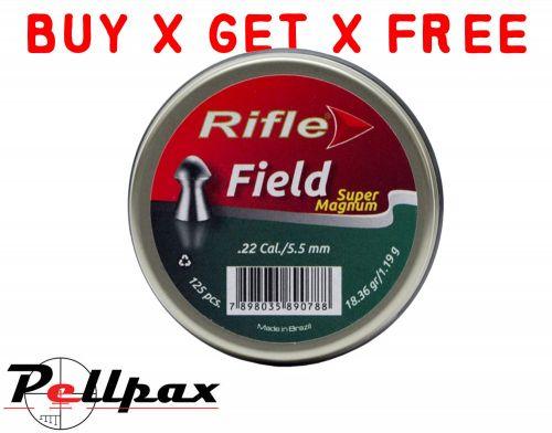 Rifle Field Super Magnum - .22 x 250 - Buy x Get x Free!