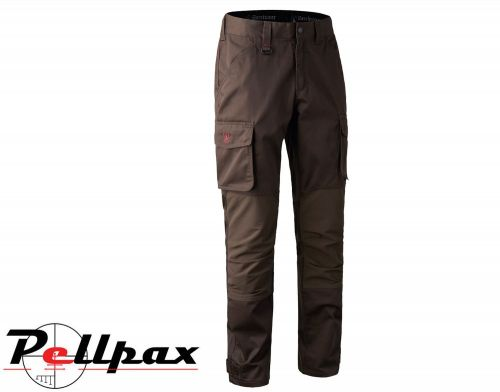 Rogaland Stretch Trousers Brown By Deerhunter