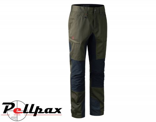 Rogaland Contrast Stretch Trousers Green By Deerhunter