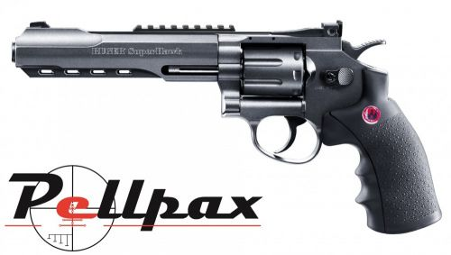 "Ruger Super Hawk 6"" Black CO2 6mm Airsoft"