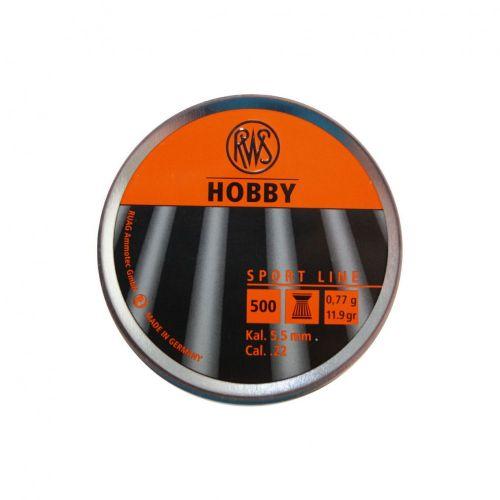 RWS Hobby .22 Pellets x 500