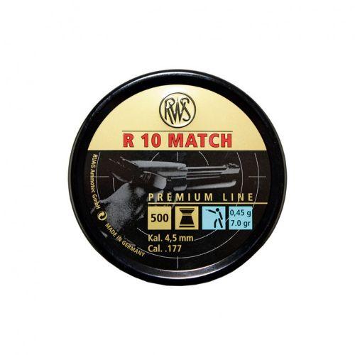 RWS R10 Match Pistol .177 x 500