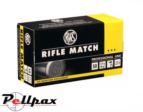 RWS Rifle Match - .22LR