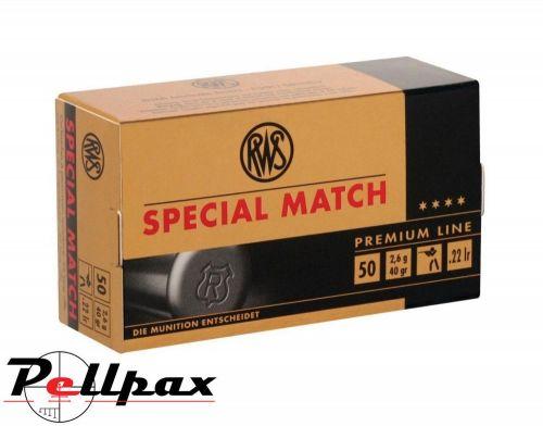 RWS Special Match - .22LR