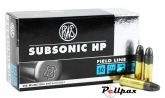 RWS Subsonic HP - .22LR
