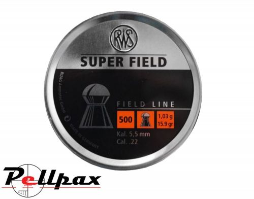 RWS Super Field .22 Pellets x 500