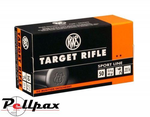 RWS Target Rifle - .22LR