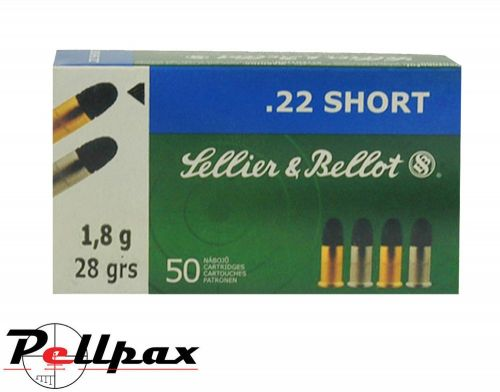 Sellier & Bellot LRN 28gr - .22Short