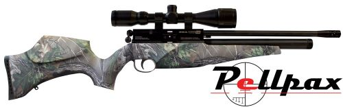 BSA Scorpion SE Multishot Real Tree Camo .22