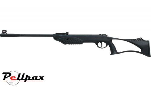 SMK Syntarg Kit .22 Pellet Spring Rifle + Bag + Scope (4x32) - Second Hand