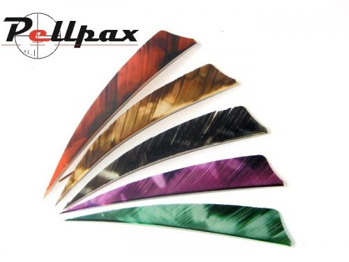 "4"" Shield Camo Feathers"