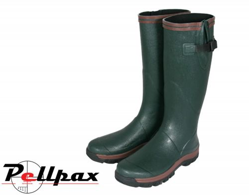 Shires Wellington Boot By Jack Pyke in Green