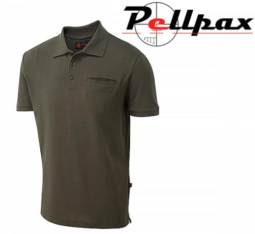 ShooterKing Game Polo Shirt -Brown