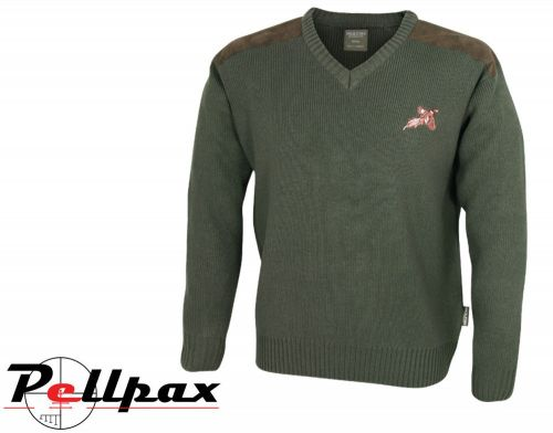 Shooters Pullover By Jack Pyke in Hunters Green