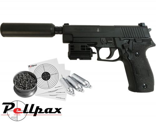 Sig Sauer P226 Special Operations Kit - .177 Pellet Air Pistol