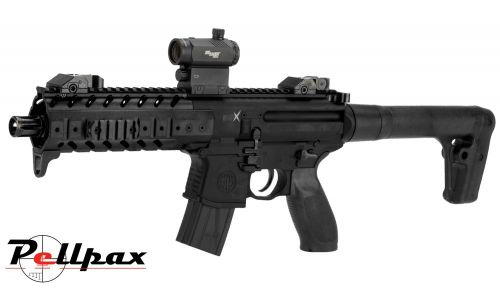 Sig Sauer MPX CO2 Air Rifle .177- w/ Red Dot