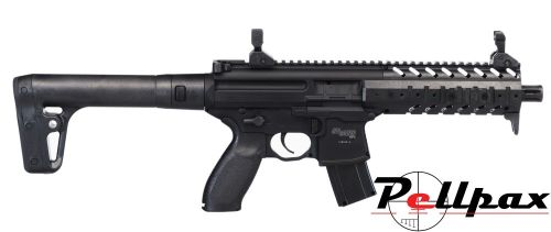 Sig Sauer MPX CO2 Rifle .177 - Black