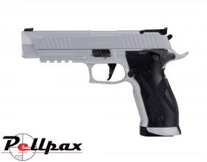 Sig Sauer X5 Silver - .177 Pellet & 4.5mm BB Air Pistol