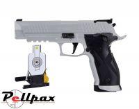Sig Sauer X5 Silver  & FREE Sig Sauer Target - .177 Pellet & 4.5mm BB