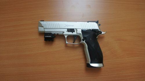 Sig Sauer X-Five Tactical Kit - .177 Pellet - w/ Hard Case