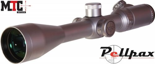 MTC Genesis LR Silver 5-20x50 - AMD Reticle