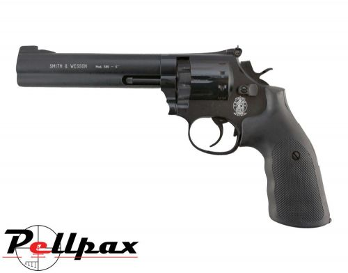 "Smith & Wesson 586 6"" Black - .177 Pellet"