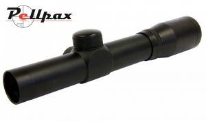 SMK 2x20 Pistol Scope - Black