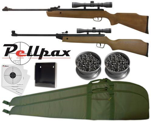 SMK Adult & Junior Starter Air Rifle Kit