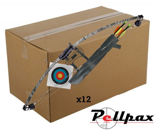 Compound Bow Kit Camo 10lbs - Bulk Box of 12