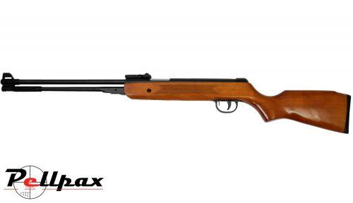 SMK DB3 Wood .22 Pellet Spring Rifle + Bag - Second Hand