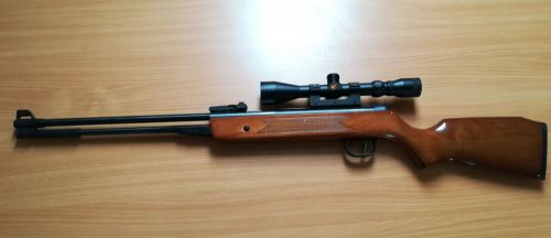 SMK DB3 Under Lever - w/ Scope and Bag - .22 - Second Hand