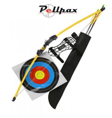 Chameleon Youth Recurve Bow Kit + 5 FREE ARROWS - 15lbs