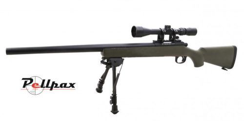 Snow Wolf VSR10 with Scope & Bipod