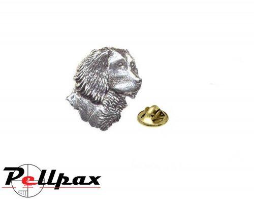 Pewter Pin Spaniel Head - Ex Display