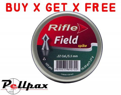 Rifle Field Spike - .22 x 125 - Buy x Get x Free!