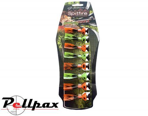 Spitfire Blowgun Darts Orange/Green - Ex Display