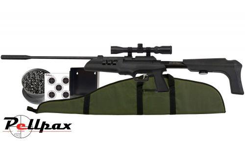 Artemis SR900S Multishot Rifle Kit -  22 Air Rifle - Spring