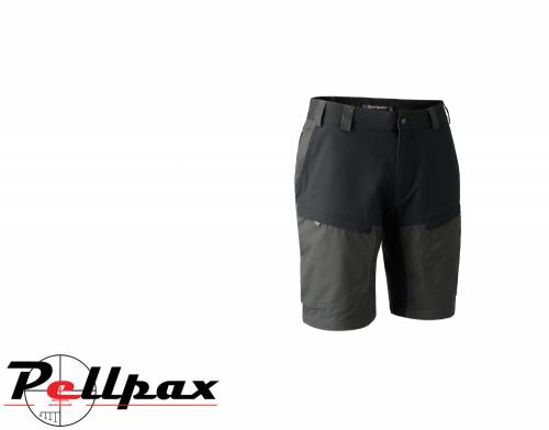 Strike Shorts in Black Ink by Deerhunter