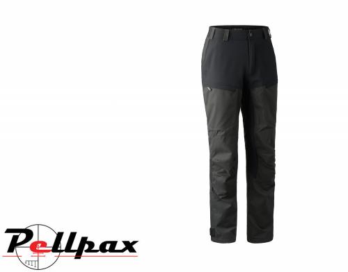 Strike Trousers in Black Ink by Deerhunter