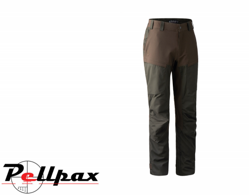 Strike Trousers in Deep Green by Deerhunter