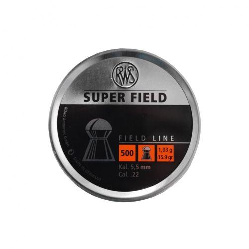 RWS Super Field .22 Pellets x 500