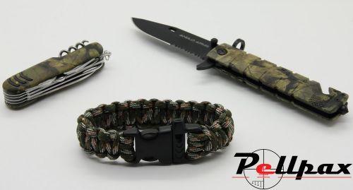 Tactical Knife Set