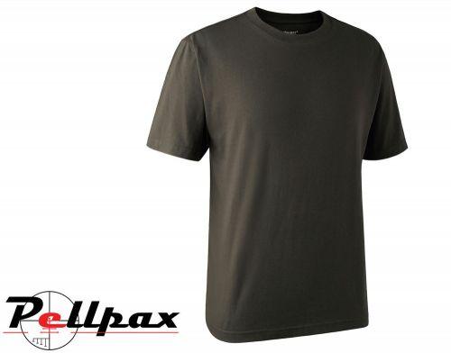 Swindon T-Shirt in Bark Green by Deerhunter
